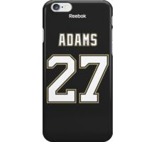 Pittsburgh Penguins Craig Adams Jersey Back Phone Case iPhone Case/Skin