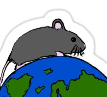 The Mouse Who Ruled The World Sticker