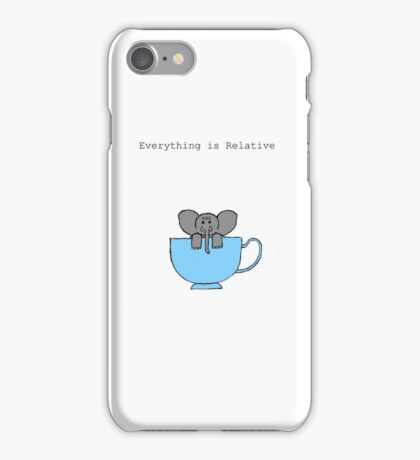 The Elephant's House is a Teacup iPhone Case/Skin
