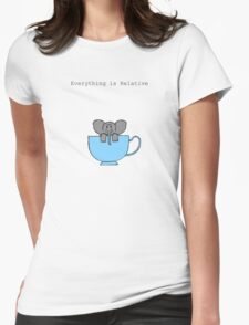 The Elephant's House is a Teacup Womens Fitted T-Shirt
