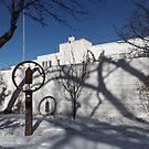 Snow View, Santa Fe, New Mexico   by lenspiro