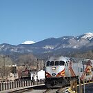 New Mexico Railrunner, Santa Fe, New Mexico by lenspiro