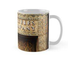 Manufacturer's Trust Brass Door Mug