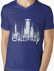 Gallifrey Mens V-Neck T-Shirt