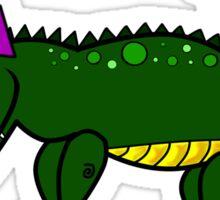 Gatorella - the sassy alligator Sticker