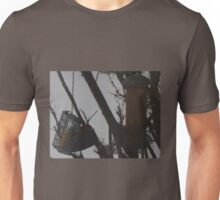 Hiding Behind The Cage  / Woodpecker                 Unisex T-Shirt