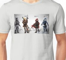 Team RWBY Battlefield 4 Unisex T-Shirt