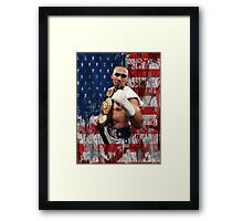 Keith Thurman One Time Boxing Framed Print