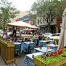 Summer Days in Montreal by Sandra Fortier