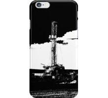 Oil Drilling Rig iPhone Case/Skin