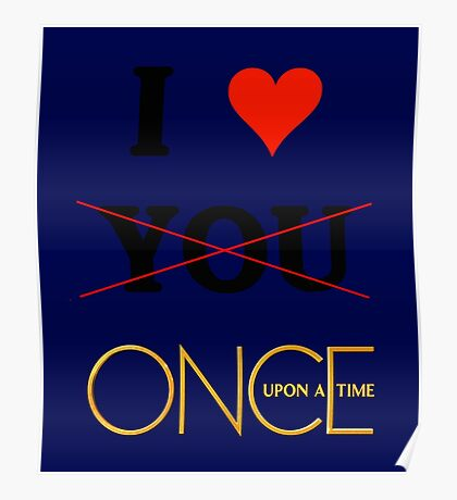 I love once upon a time - Valentine's day special Poster