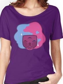 RAW GARNET Solo Headshot Women's Relaxed Fit T-Shirt