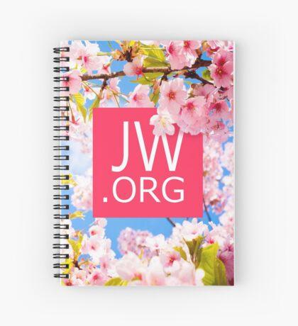 JW.ORG (Cherry Blossom) Spiral Notebook
