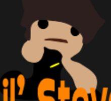 Lil Steam Powered Steve Sticker