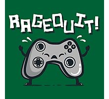 Ragequit Photographic Print