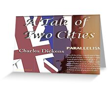 A Tale of Two Cities Parallelism Greeting Card