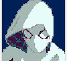 Pixel Spider-Gwen by Steckadeck
