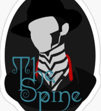 Steam Powered Spine Sticker