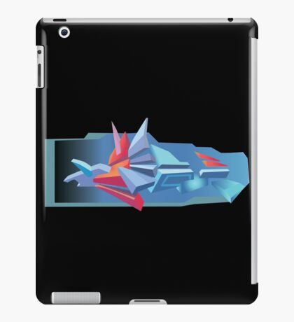 3D Graffiti iPad Case/Skin