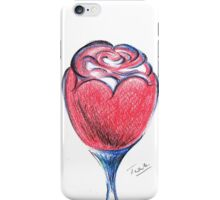 Red Rose With Love  iPhone Case/Skin