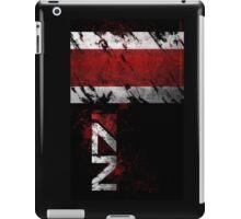 Mass Effect N7 distressed iPad Case/Skin
