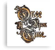 Once Upon A Time 1 Canvas Print