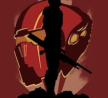 Commander Shepard by MargheritaM