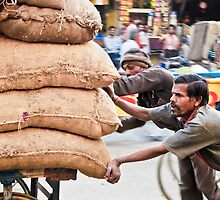 Working hard... by Neha  Gupta