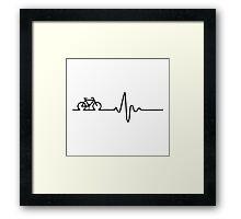 cardio cycling Framed Print