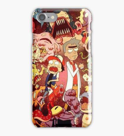 Pocket Mortys? Pokemorty iPhone Case/Skin