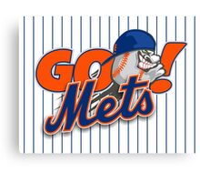 Go Mets  Canvas Print