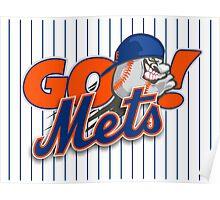 Go Mets  Poster