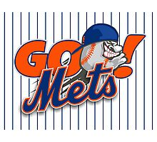 Go Mets  Photographic Print