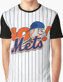 Go Mets  Graphic T-Shirt