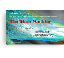 The Time Machine Rising Action Canvas Print