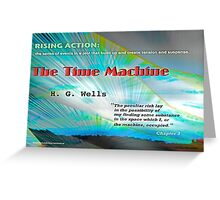 The Time Machine Rising Action Greeting Card