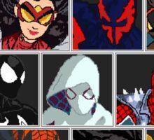 Spider-Verse Fighter Sticker