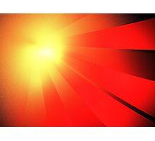 Comet Rays Photographic Print