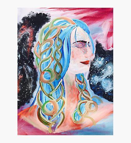 """Home"" Surreal Woman/Pleiades/Orion Photographic Print"