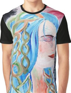"""""""Home"""" Surreal Woman/Pleiades/Orion Graphic T-Shirt"""