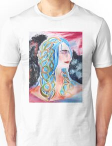 """Home"" Surreal Woman/Pleiades/Orion Unisex T-Shirt"