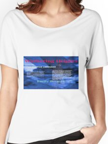 Wuthering Heights Figurative Language Women's Relaxed Fit T-Shirt
