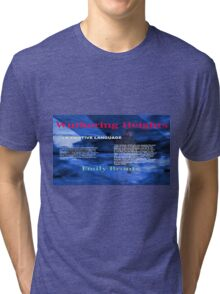 Wuthering Heights Figurative Language Tri-blend T-Shirt