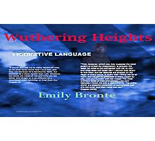 Wuthering Heights Figurative Language Photographic Print