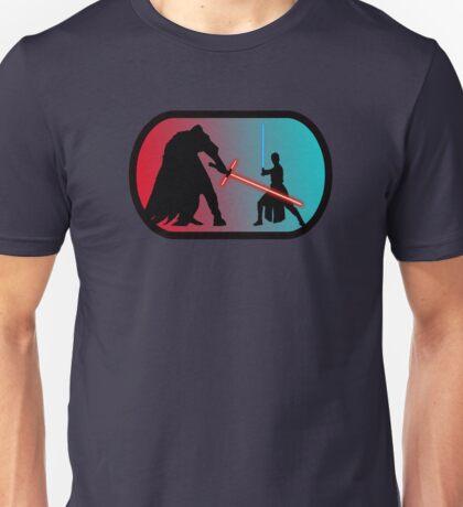 The Good VS Evil on Starkiller Base Unisex T-Shirt