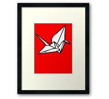 Origami Framed Print