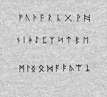 Rune Script Tank Top