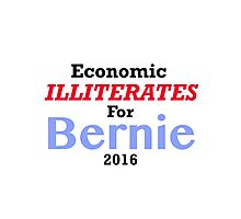 Anti Bernie Sanders Sticker Photographic Print