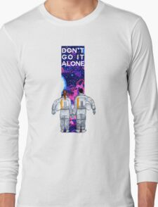 Don't Go It Alone - with text Long Sleeve T-Shirt