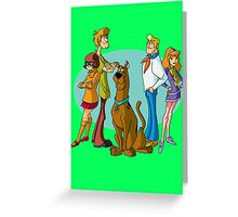 Scooby Gang Greeting Card